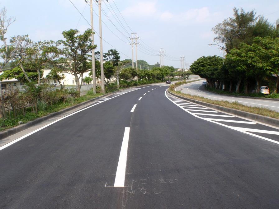 沖縄嘉手納線舗装補修工事(H27)